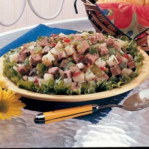 Roast Beef and Potato Salad Recipe
