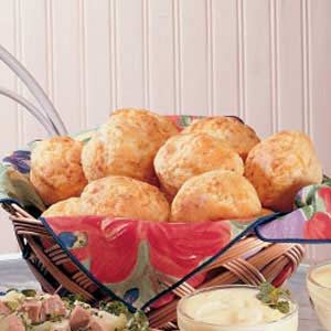 Cornmeal Cheese Muffins Recipe