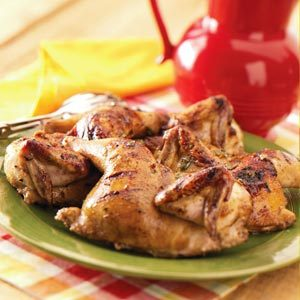 Grilled Game Hens Recipe