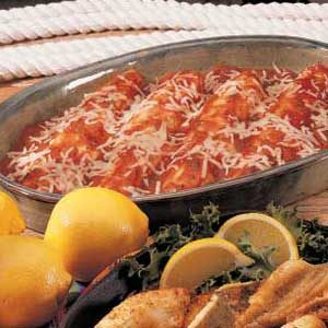 Italian-Style Walleye Recipe