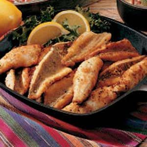 Cracker-Coated Fried Perch Recipe