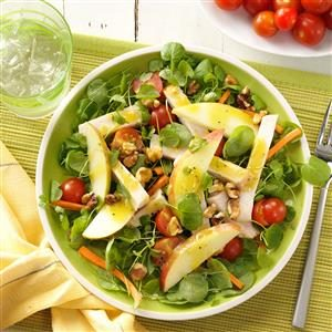 Smoked Turkey and Apple Salad Recipe