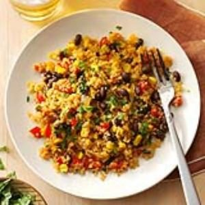 Black Bean & Corn Quinoa Recipe