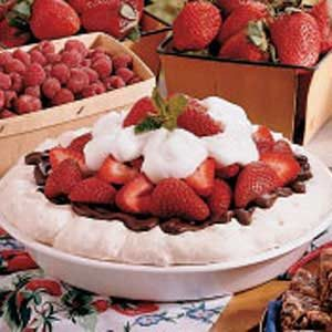 Strawberry Meringue Pie Recipe