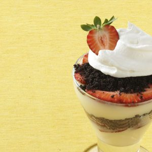 White Chocolate Berry Parfaits Recipe