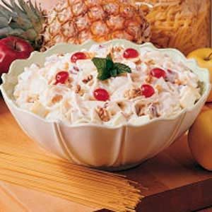 Spaghetti Fruit Salad Recipe
