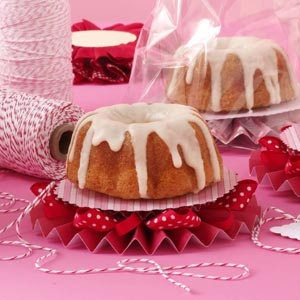 Orange Cranberry Pound Cake with Vanilla Glaze Recipe