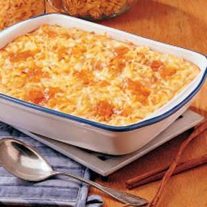 Apricot Cheese Kugel Recipe