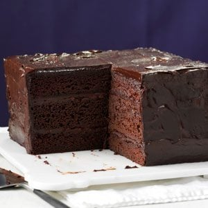 Deep & Dark Ganache Cake Recipe