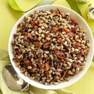Black-Eyed Peas with Bacon Recipe