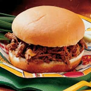 Tangy Barbecue Sandwiches Recipe