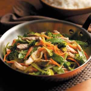 Pheasant Stir-Fry Recipe