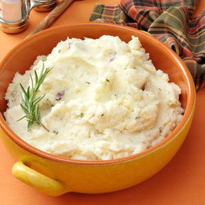 Parmesan-Rosemary Mashed Potatoes Recipe
