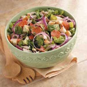 Submarine Sandwich Salad Recipe