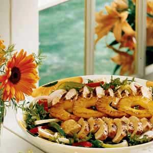 Spicy Grilled Chicken Salad Recipe