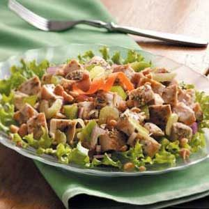Grill-Side Turkey Salad Recipe