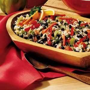 Citrus Black Bean and Rice Salad Recipe