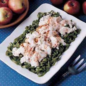 Sour Cream Apple Chicken Recipe