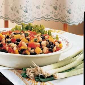 Black-and-White Bean Salad Recipe