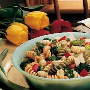 Turkey Vegetable Pasta Salad Recipe