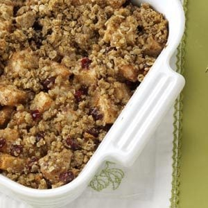 Cranberry and Pear Crisp Recipe