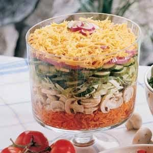 Harvest Layered Salad Recipe