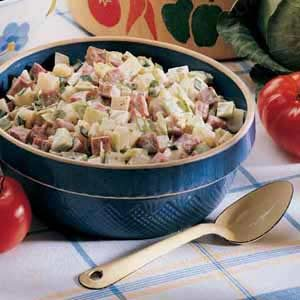 Irish Potato Salad Recipe