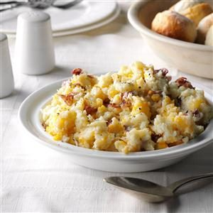 Cheese Smashed Potatoes