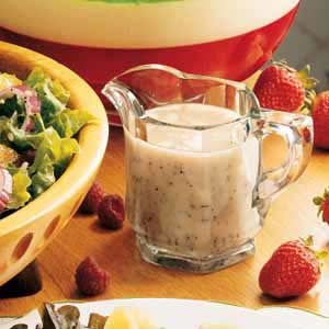 Sweet 'n' Tangy Poppy Seed Dressing Recipe