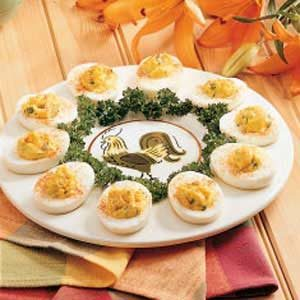 Garlic Deviled Eggs Recipe