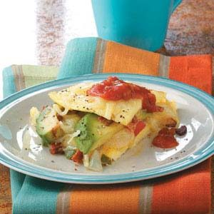 Southwestern Omelet Recipe photo by Taste of Home
