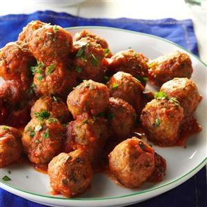 Slow-Cooked Italian Meatballs Recipe