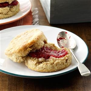 Flaky Whole Wheat Biscuits Recipe