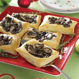 Mixed Mushroom Tartlets Recipe photo by Taste of Home