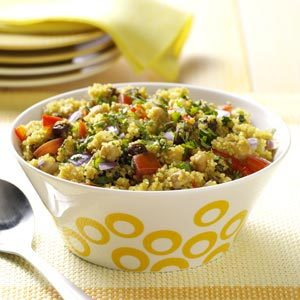 Curried Quinoa and Chickpeas Recipe