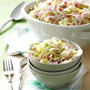 Spectacular Overnight Slaw Recipe