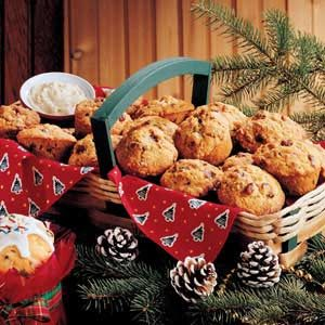Special Cranberry Nut Muffins Recipe