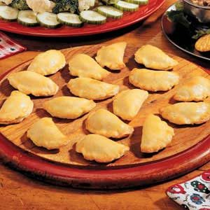 Mushroom Crescents Recipe