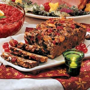 Cherry Date Fruitcake Recipe