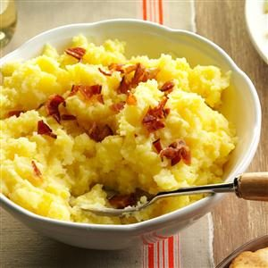 Buttermilk Smashed Potatoes Recipe