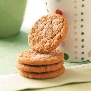 Oatmeal Gingersnaps Recipe