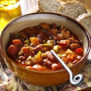 Spicy Pork Chili