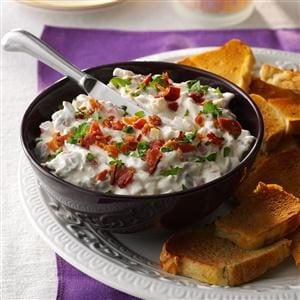 Tomato-Bacon Dip with Focaccia