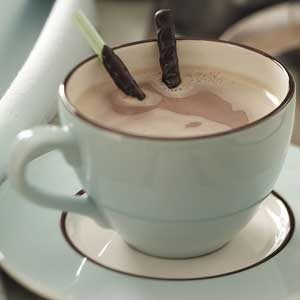 Minty Hot Chocolate Recipe
