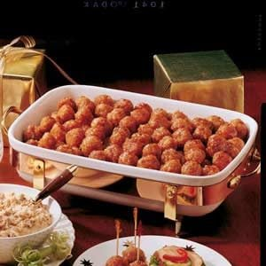 Ham Balls with Brown Sugar Glaze Recipe