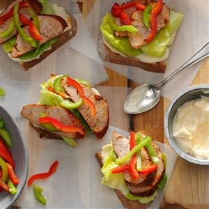 Cajun Pork Sandwiches Recipe