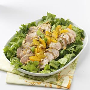 Grilled Tenderloin Salad Recipe