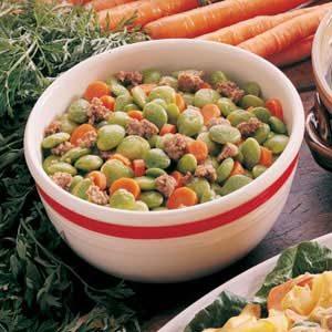 Classic Lima Bean Casserole Recipe