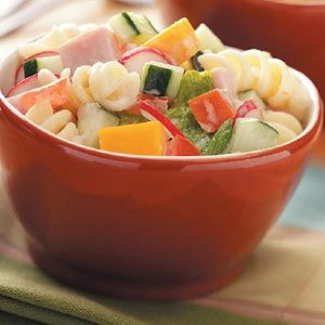 Luncheon Pasta Salad Recipe