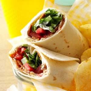 BLT Tortillas Recipe